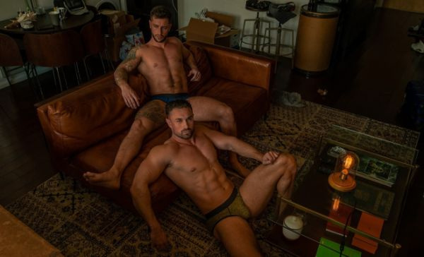 Ben Dudman and Vince Azzopardi Shirtless by Andy Chou