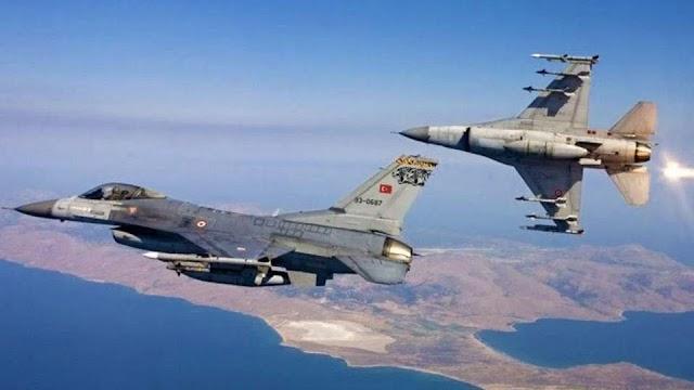Παραλίγο ατύχημα με τουρκικό F-16 στο Αιγαίο-Τι συνέβη (BINTEO)