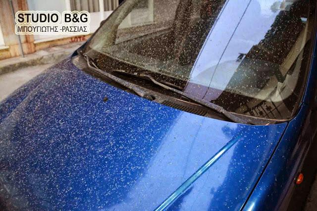 Λασποβροχές και αυξημένες συγκεντρώσεις σκόνης