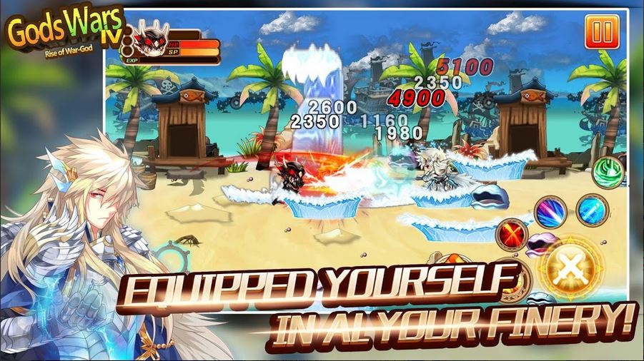 Download Gods Wars 4 Arise Of War God MOD APK 2