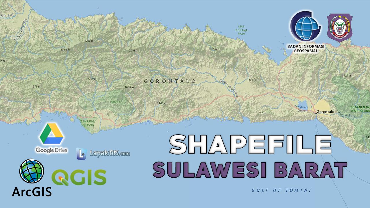 Shapefile Provinsi Gorontalo Terbaru