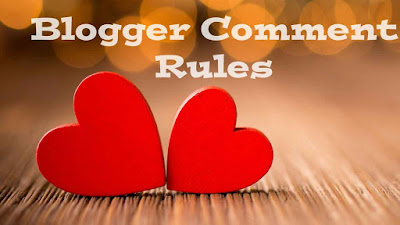 Blogger Comment Rules