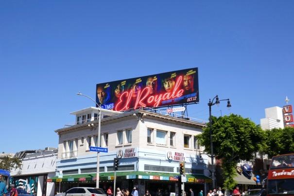 Bad Times at the El Royale movie billboard