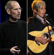 joan baez and steve jobs relationship with employees