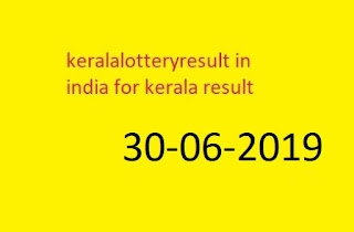 kerala lottery online results kerala lottery result chart