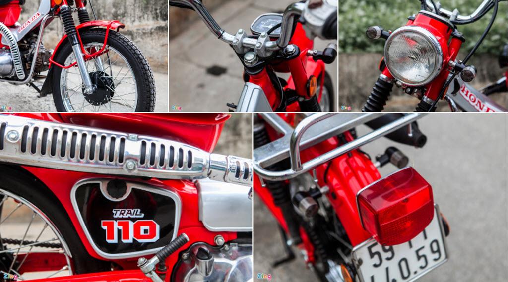Honda CT110 đời 1996 hàng hiếm rao giá 70 triệu đồng