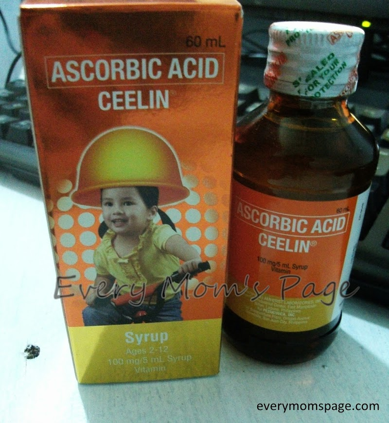 Vitamin C to My Healthier Kids #Ceelin #Unilab