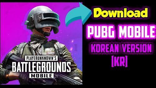 PUBG MOBILE KOREAN VERSION