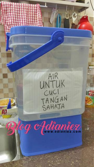 Catuan Air Di Melaka | Bila bekalan air tiada di hujung minggu...