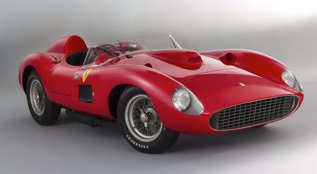 自動車史上最高額!「フェラーリ335Sスパイダー・スカリエッティ」が41億円以上で落札!