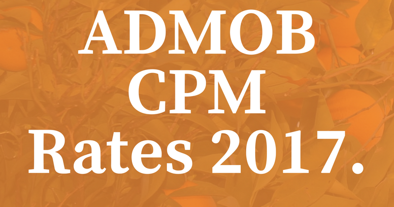 Adstargets Ad Network: Understanding AdMob CPM Rates 2017Ad