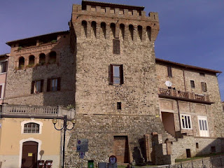 The Torri Bolli is one of three medieval towers in Antognoni's home town of Marsciano