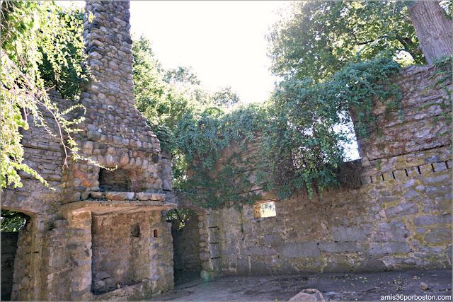 Bancroft's Castle en Groton, Massachusetts