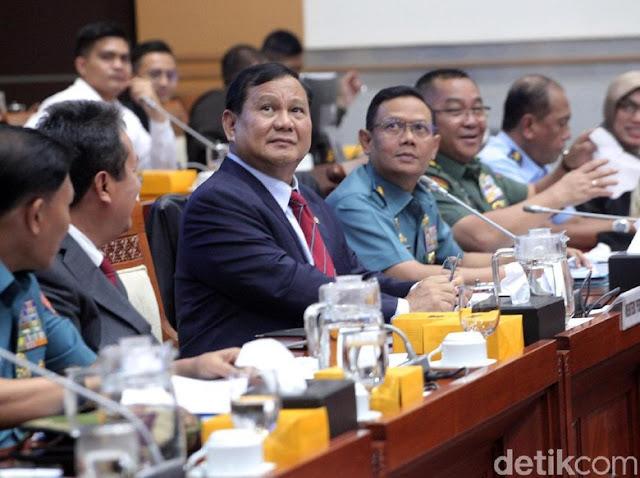 Video Debat Menhan Prabowo dan Komisi I soal Rapat Terbuka atau Tertutup
