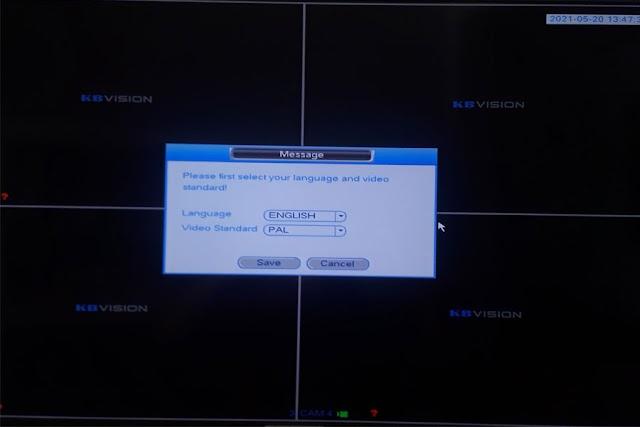 Hướng dẫn cài đặt đầu ghi hình KBVISION trên Tivi