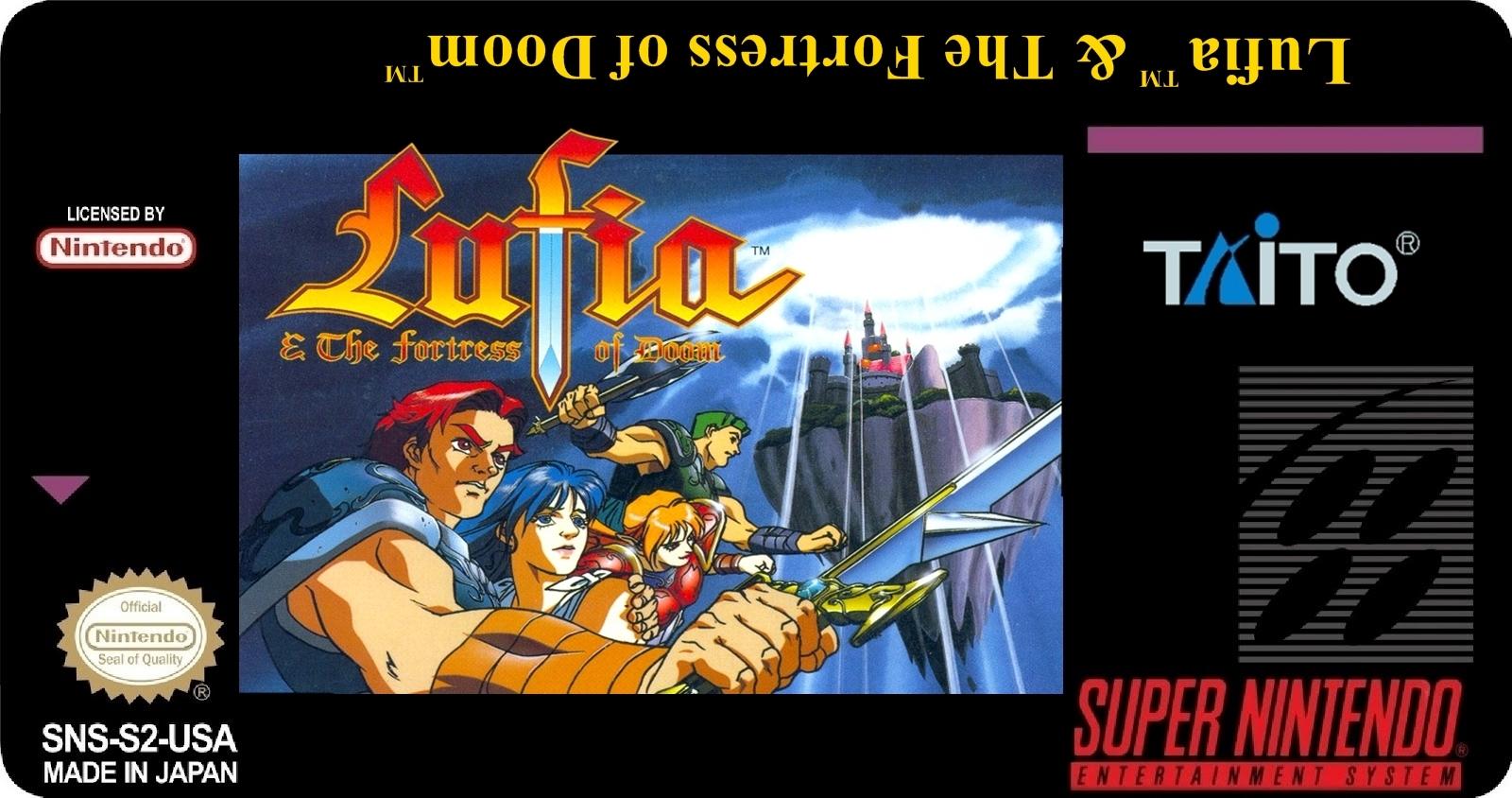 Lufia The Fortress Of Doom Artwork – Fondos de Pantalla