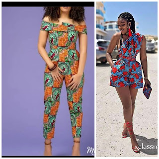 Jumpsuit fashion of the 80's now trending and   Hilda rocks it.