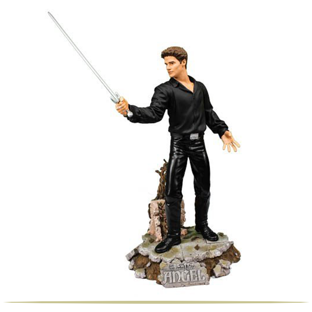 Buffy the Vampire Slayer 12-inch Angel with Sword Sculpture    9 Cool Things