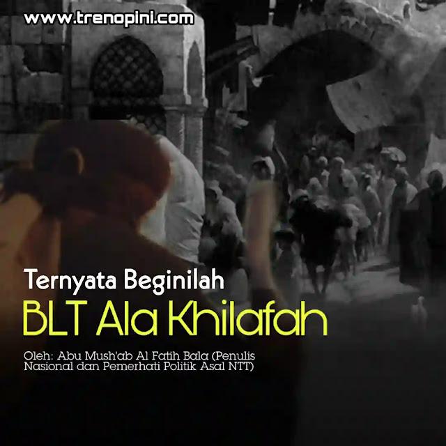 Sepanjang Sejarah Khilafah, belum pernah ada kejadian Khalifah menarik kembali bantuan yang telah diberikannya kepada rakyat. Para Khalifah tak pernah menganggap mereka sebagai beban.