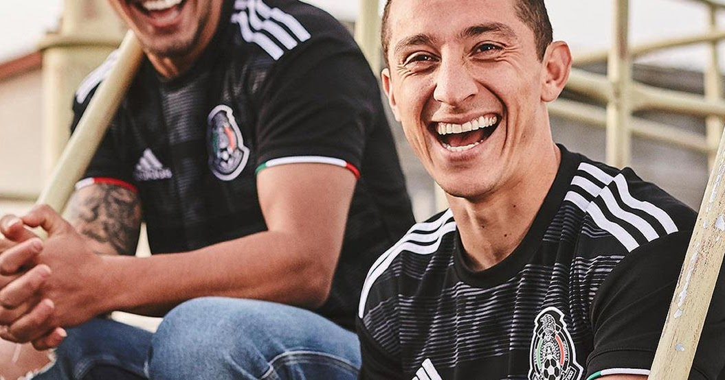 5278ea2c1 Black Adidas Mexico 2019 Gold Cup Kit Released - Footy Headlines