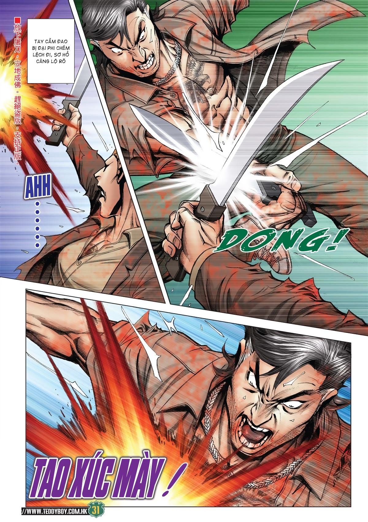 Người Trong Giang Hồ chapter 2033: kim tôn quý vs đại phi trang 28