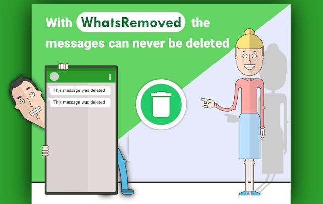 Aplicativo WhtasRemoved (Imagem: Reprodução/Internet)