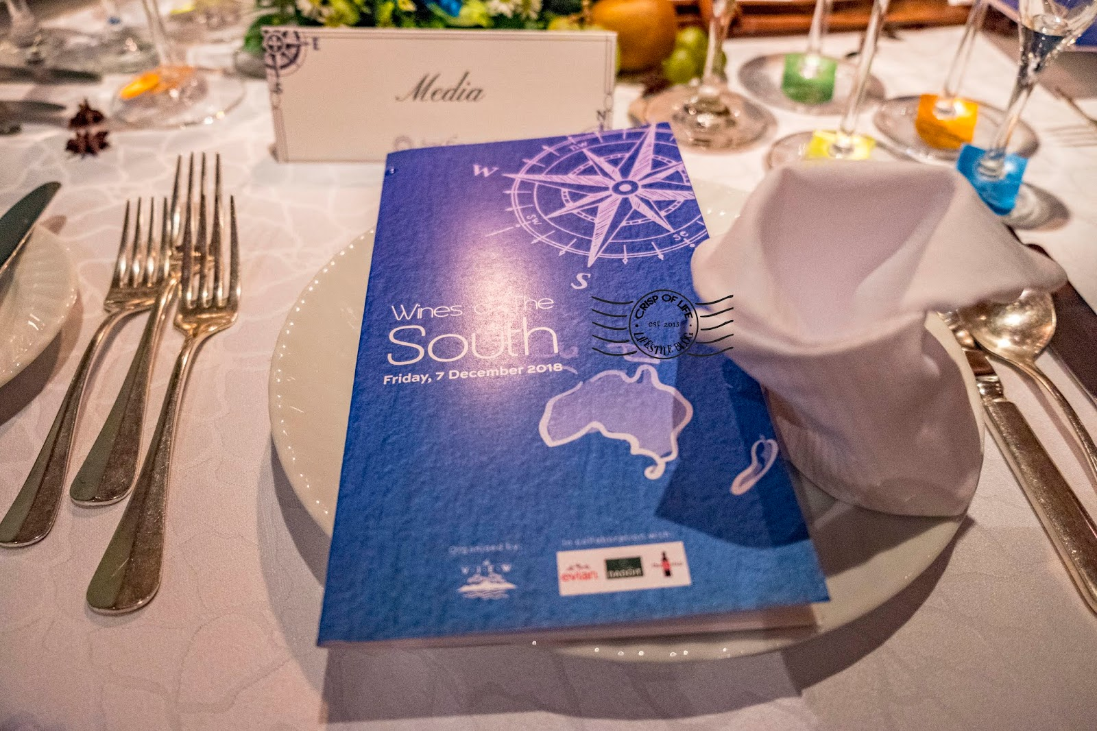 Wines of The South Wine Dinner @ The View, Hotel Equatorial, Penang