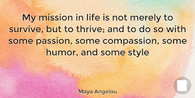 Maya Angelou My Mission