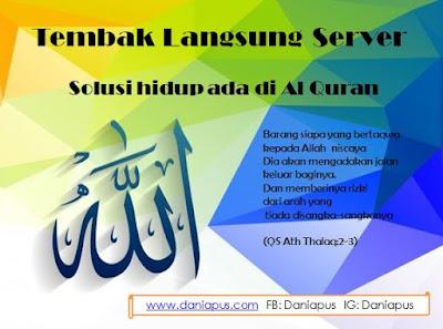 Tembak server: Allah