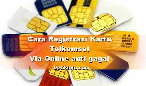 Cara Registrasi ulang kartu simpati, as, loop online