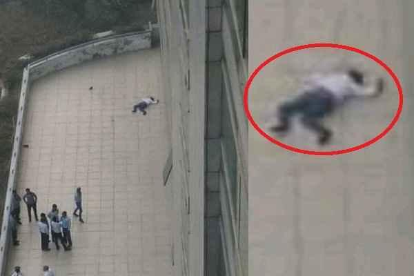 surajkund-pinnacle-tower-saurabh-jump-sucide-news