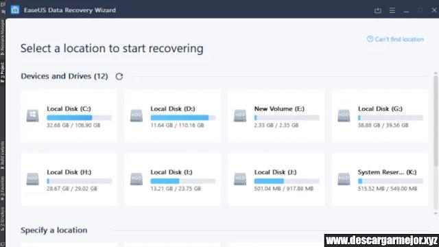 Descargar EaseUS Data Recovery Wizard