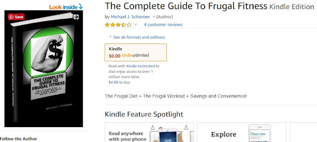 frugal fitness ebook amazon kindle unlimited guide