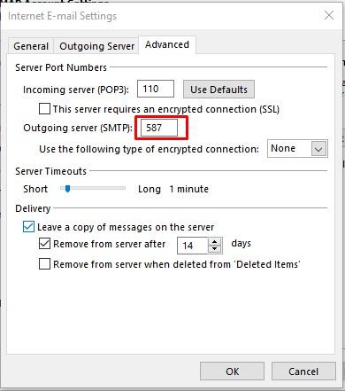 cara merubah email di outlook