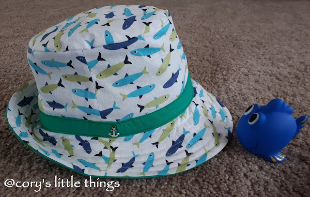 """""""Go fishing by the seaside"""" toddler suit"""