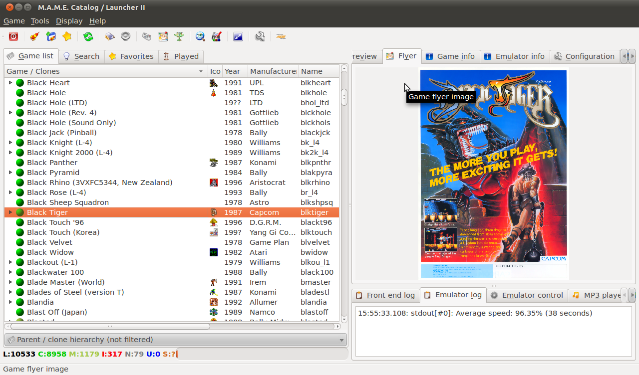 A source full of secrets: QMC2, a graphical user interface ...