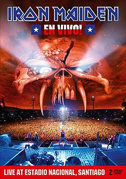 Iron Maiden En Vivo! - Live At Estadio Nacional, Santiago CD y DVD 2011