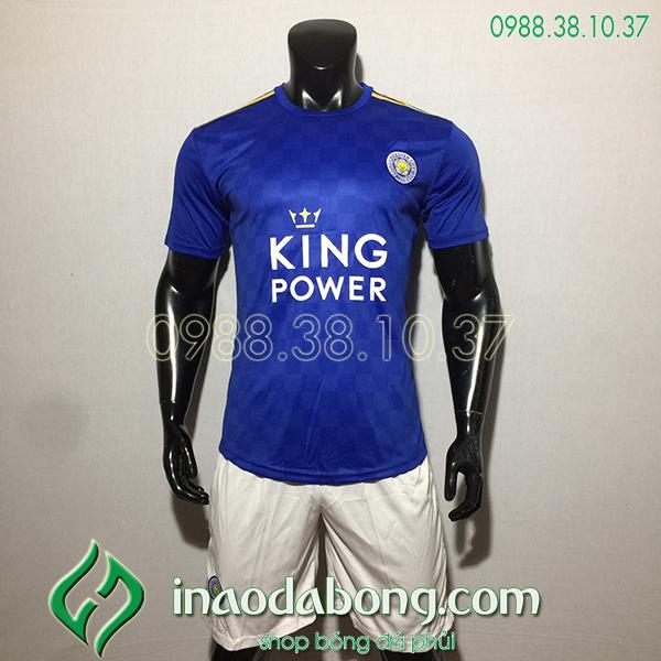 Áo bóng đá câu lạc bộ Leicester màu xanh 2020