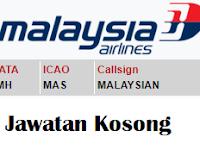 Jawatan Kosong Malaysia Airlines (Banyak Kekosongan)