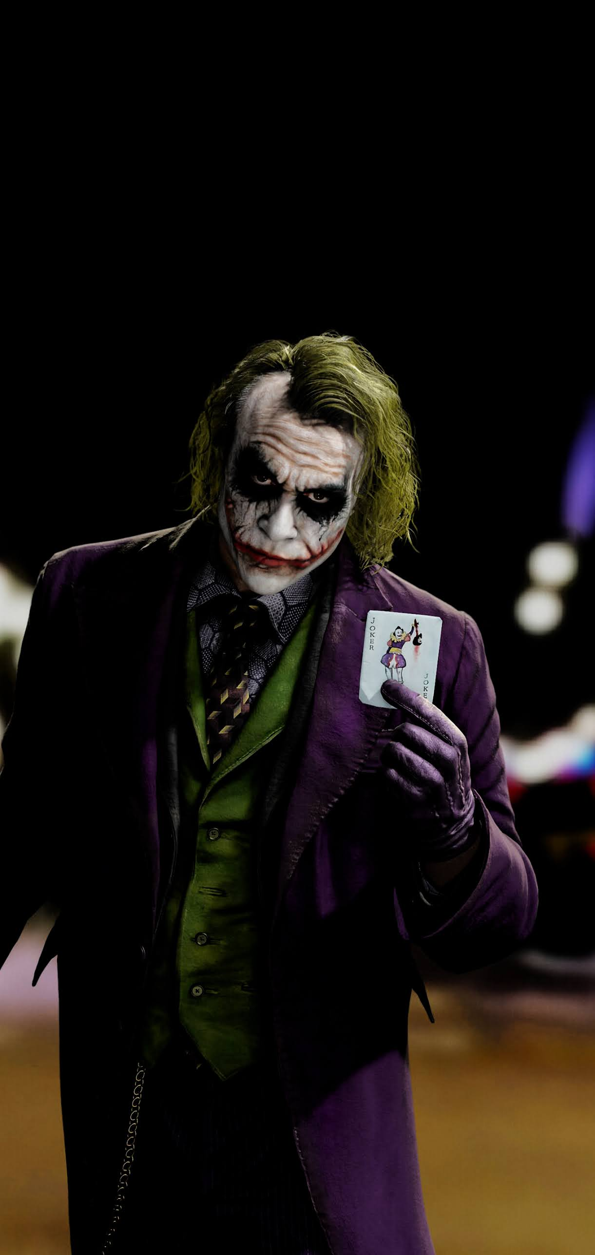 JOKER oled amoled wallpaper for iphone