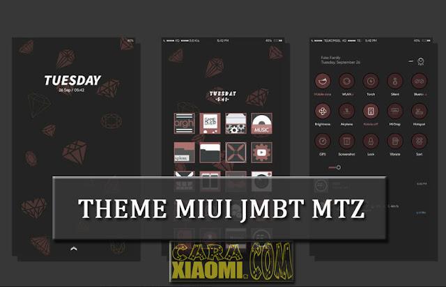 MIUI Theme JMBT Dark Lite Final Mtz Untuk Xiaomi Versi Terbaru