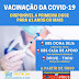 Pessoas com 61 anos ou mais de idade já podem tomar 1ª dose da vacina contra a Covid-19 em Cristalina Goiás
