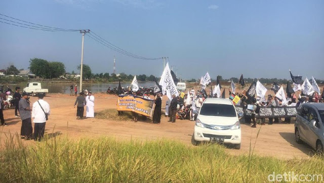 Polisi Bubarkan Kirab Bendera yang Diikuti Eks Anggota HTI di Babel