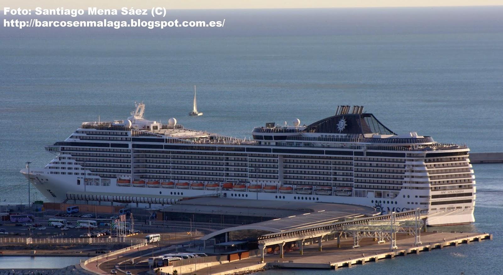 Barcos en Málaga: MSC SPLENDIDA