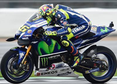 Start Kedua, Rossi Berharap Inggris Tak Diguyur Hujan