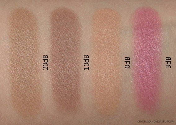 TheBalm Highlite 'N Con Tour Palette Swatches Contouring Powders