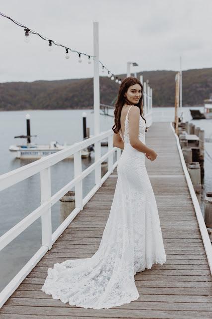 BOHEMIAN BRIDAL WEAR GOWN DRESS WEDDING QUEENSLAND