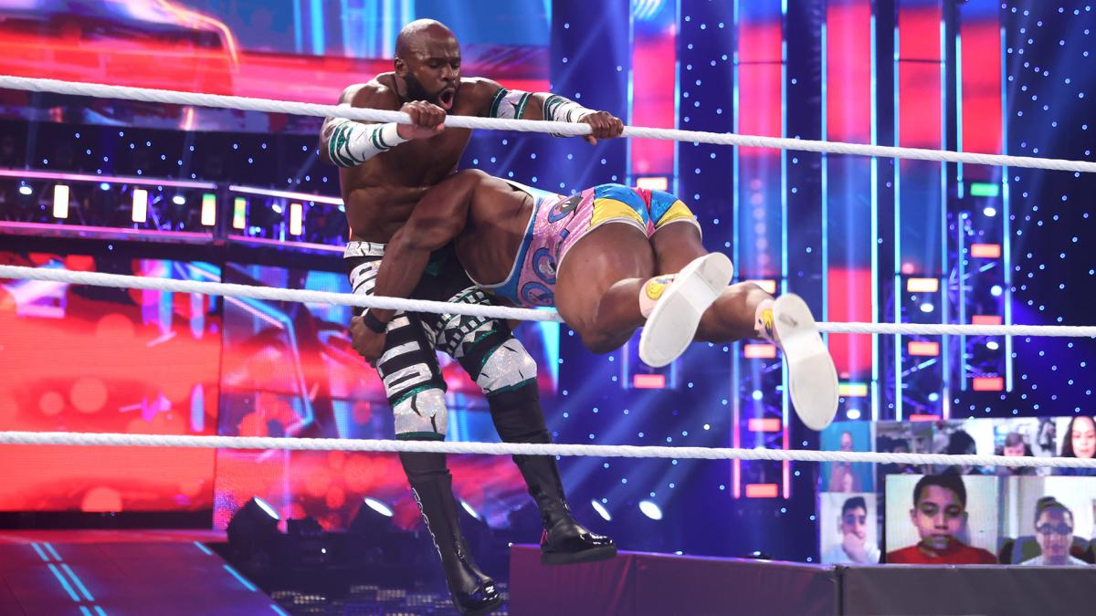 """WWE fazendo mistério sobre a """"Nigerian Drum Match"""" da WrestleMania 37"""