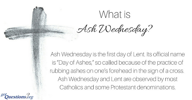 Important Ash Wednesday Facts
