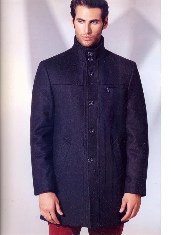 черное пальто мужское